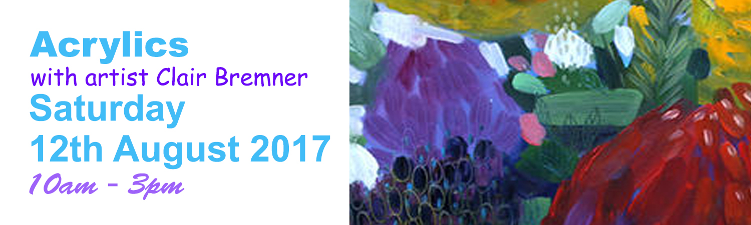 Painting Class all Artist Quality Materials Included 12th August 2017 10am to 3pm