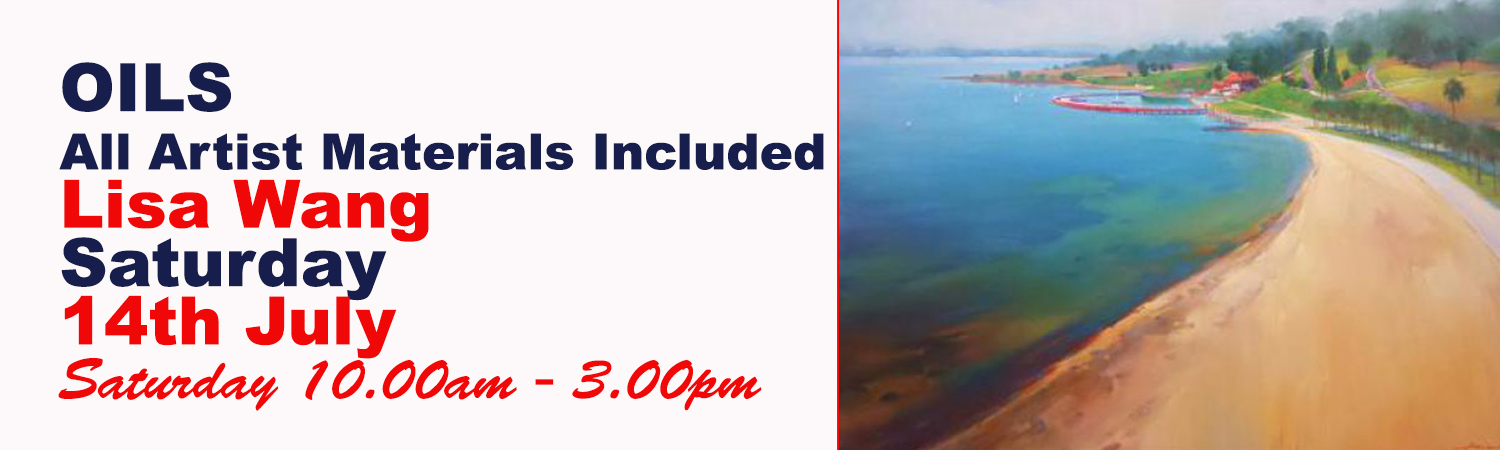 One Day Seascape Oil Painting Workshop - All Artist Materials Included
