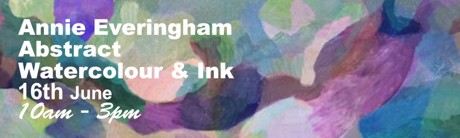 One Day Watercolour & Ink Painting Workshop 16th June 2017