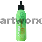 Montana Acrylic Paint Marker and Airbrush Refill Ink 25ml Fluro Acid Green