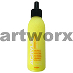 Montana Acrylic Paint Marker and Airbrush Refill Ink 25ml Fluro Flash Yellow