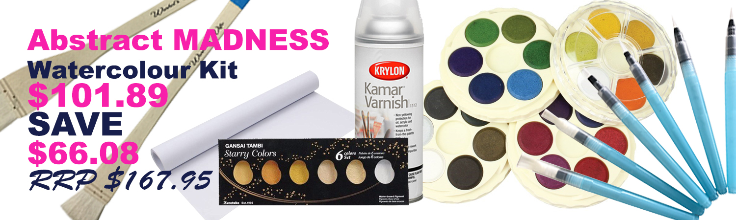 Abstract Madness Watercolour Kit