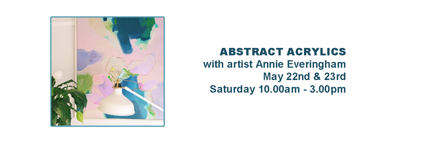 Abstract Acrylics with Annie Everingham