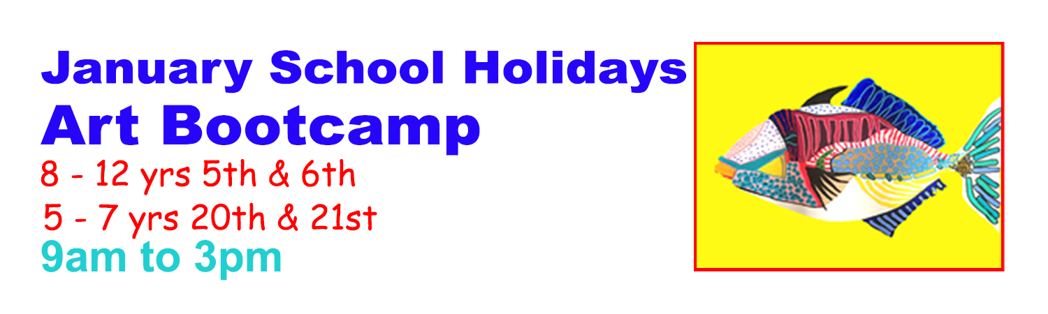 School Holiday Program Art Bootcamp January 2016