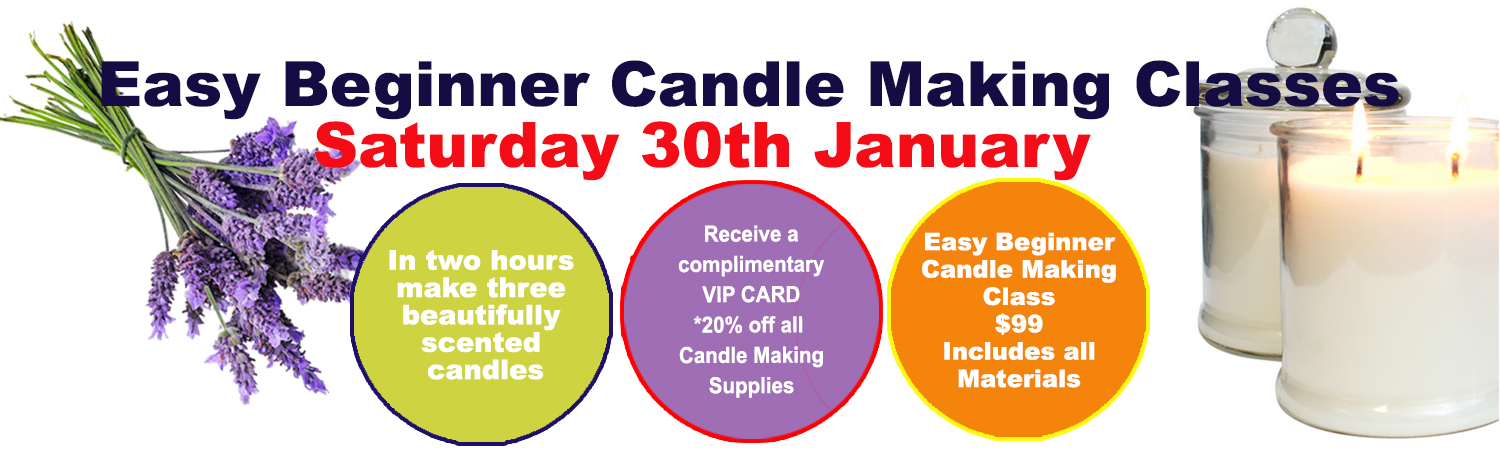 Soy Wax Candle Making January 30th 2016