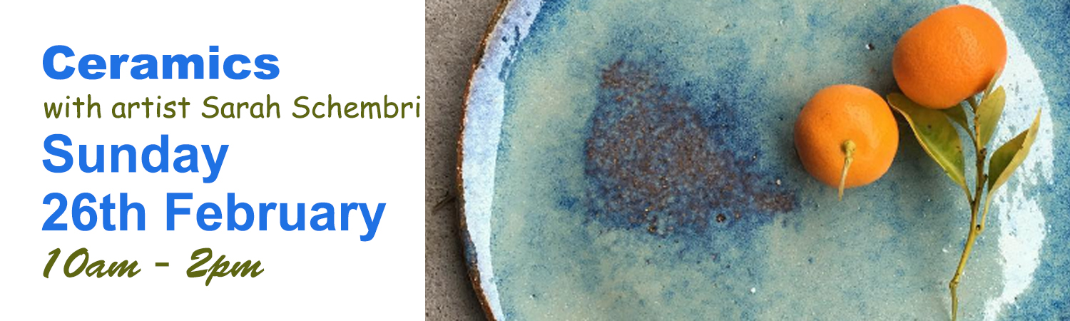 Ceramic Class Sunday 26th February with Potter Sarah Schembri