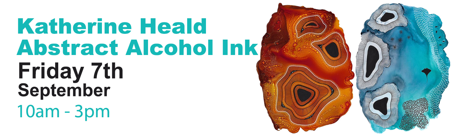 Alcohol Ink Workshop Friday 7th September 2018