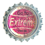 Metal Embellishment Bottle Top Go To The Extreme