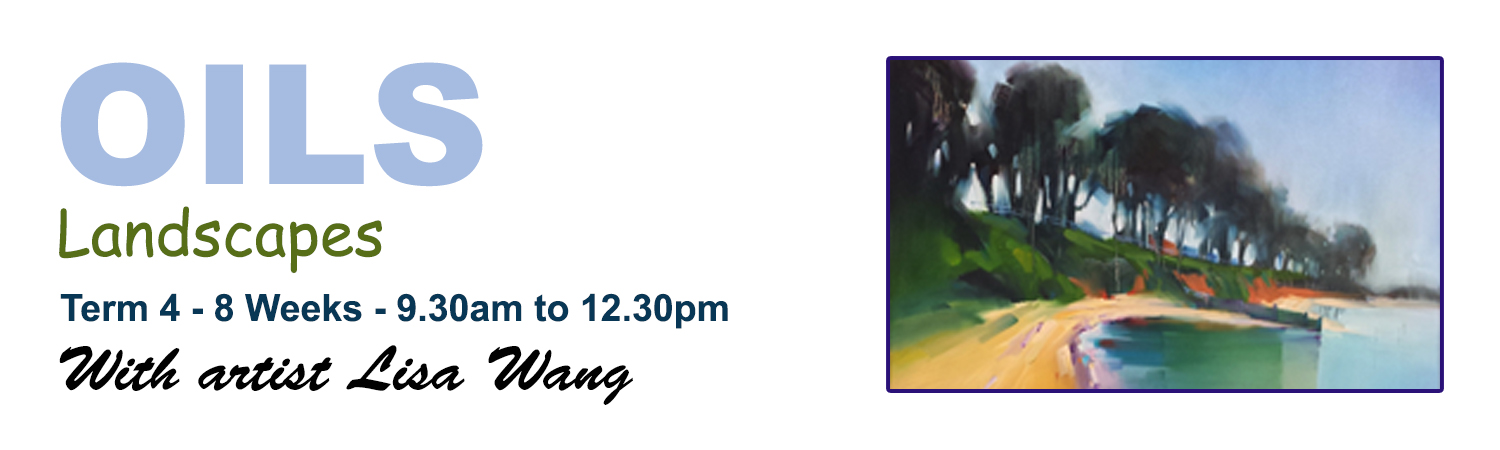 Term 4 2015 Oil Landscapes with artist Lisa Wang