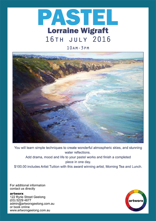 Pastel with artist Lorraine Wigraft 16th July 2016