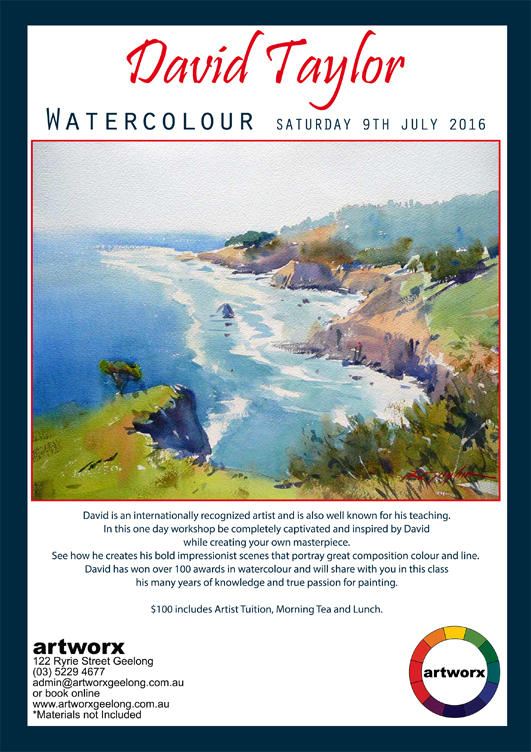 Water Colour with artist David Taylor 9th July 2016