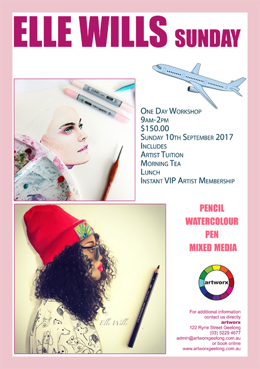 One Day Sunday 10th September Illustration Workshop 2017