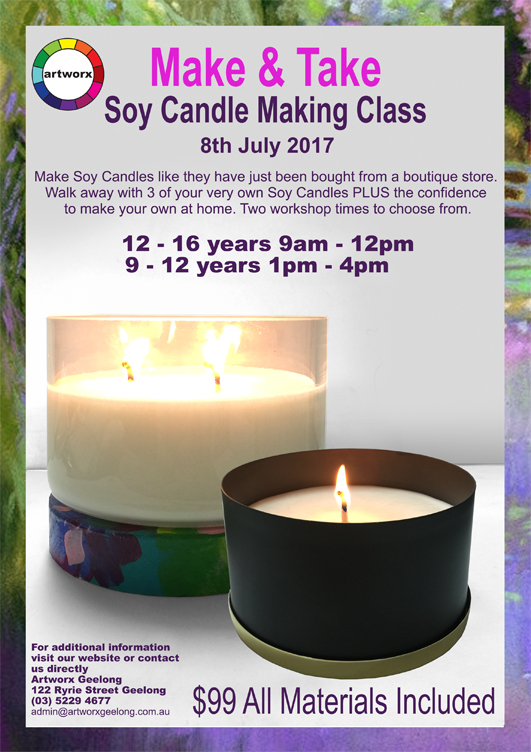 Kids Soy Candle Making Class