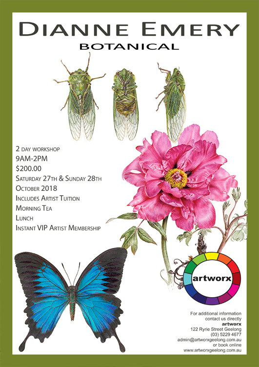 Botanical Workshop Saturday 27th & Sunday 28th October 2018