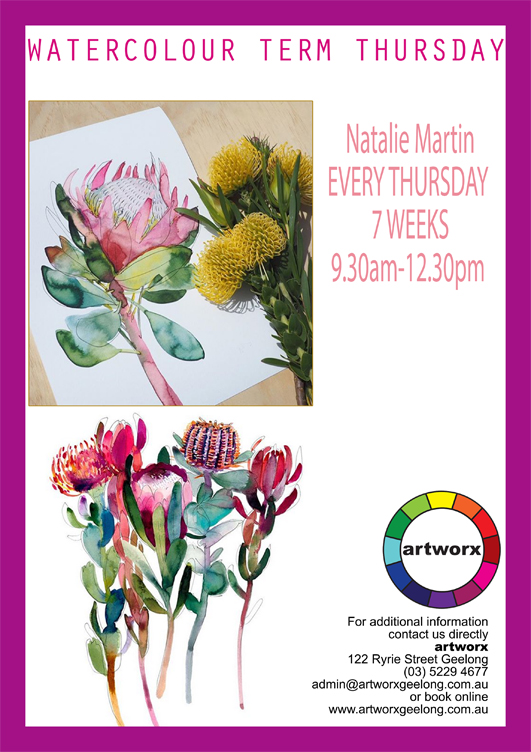 Water Colour Term Classes for Adults