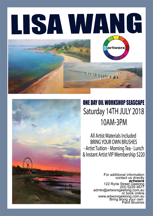 Seascape Oil Painting Workshop - All Artist Materials Included