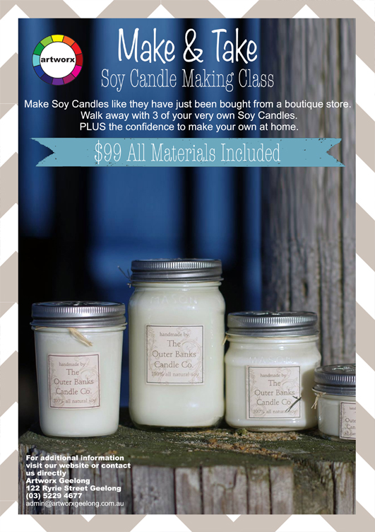 Soy Candle Making Classes