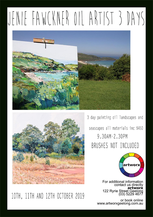 3 Day Oil Painting Workshop Land & Sea