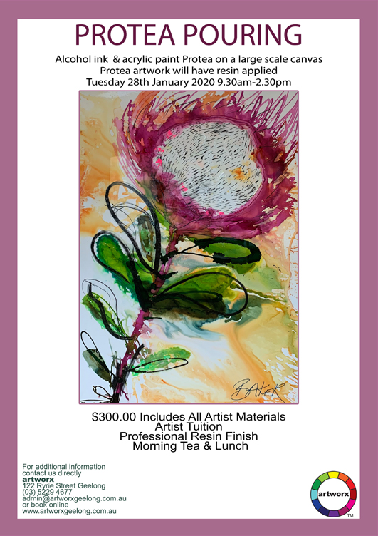Protea Pouring Workshop 28th January 2020