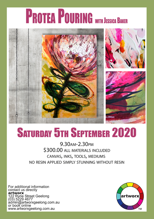 Protea Pouring Workshop 5th September 2020