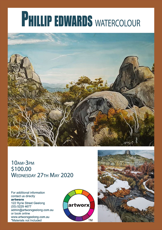 One Day Watercolour Workshop 27th May 2020