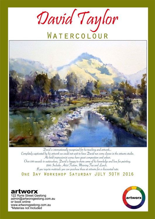 Water Colour with David Taylor 30th July 2016
