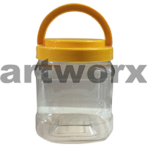 1.5L Small Plastic Storage Jar