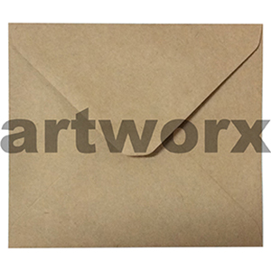 120x105mm Brown Kraft Envelope
