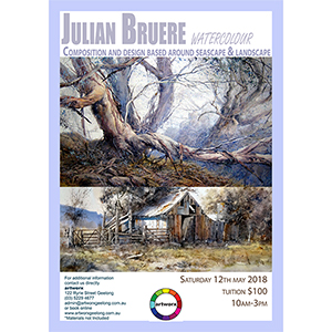 Seascape & Landscape Watercolour with Julian Bruere 12th May 2018