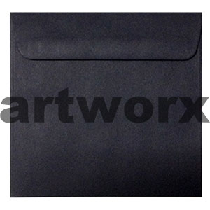 150x150mm Matte Black Envelope