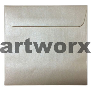 150x150mm Metallic Cream Envelope