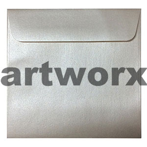 Metallic White Quartz 150x150mm Envelope