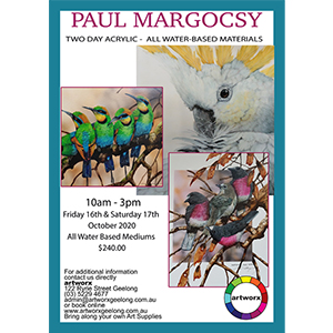 16th & 17th October 2020 - All Things Waterbased with Paul Margocsy