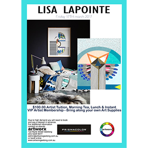 Drawing Workshop 17th March 2017 with artist Lisa Lapointe