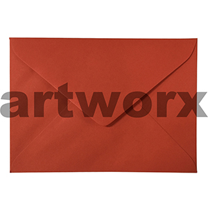 20pc 130x180mm Chilli Red 120gsm Envelope