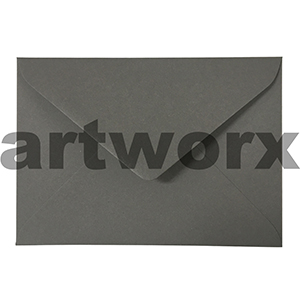 20pc 130x180mm Charcoal 120gsm Envelope