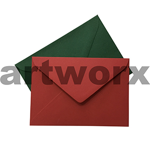 20pc C5 100% Recycled Christmas Envelope