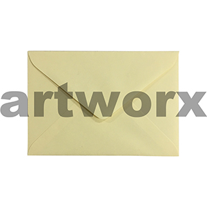 **20pc 130x180mm Yellow Duckling 130gsm Envelope