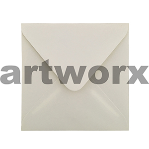 20pc Champagne Matte 16x16cm Envelopes 100% Recycled