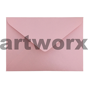 20pc 130x180mm Pink Bow 130gsm Envelope