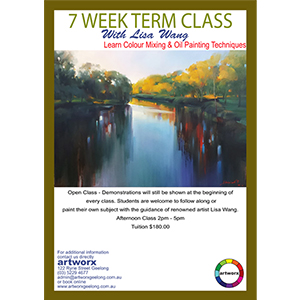 7 Week Oil Painting Afternoon Classes 2pm - 5pm