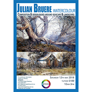 Seascapes & Landscapes Watercolour with Julian Bruere 12th May 2018