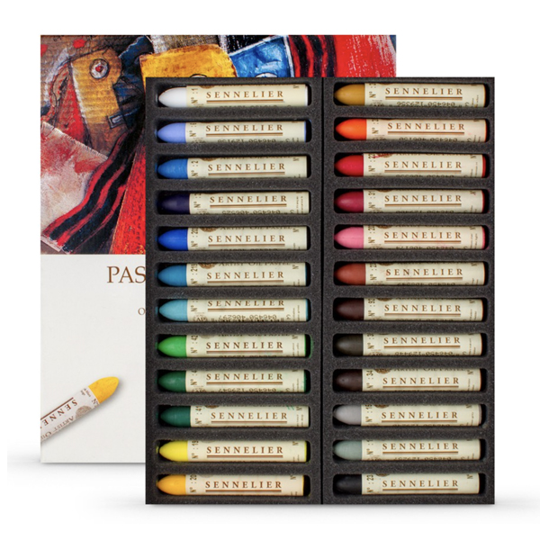 24pc Sennelier Oil Stick Assorted