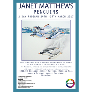 2 Day Drawing Workshop 24th & 25th March with artist Janet Matthews