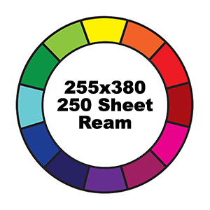 500 Sheet Ream 255x380mm Reams Prism Cover Paper