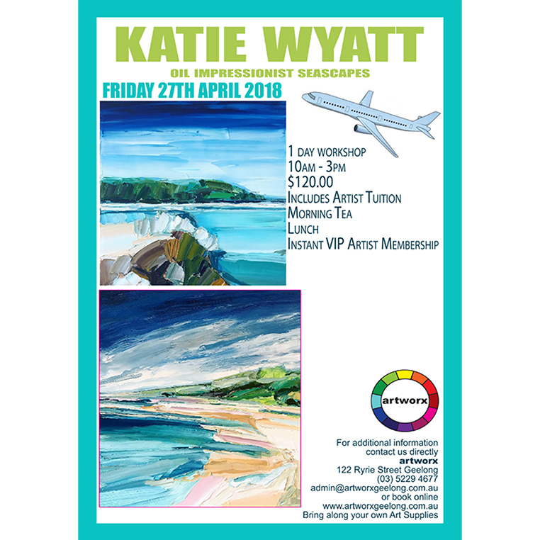 Impressionist Oil Landscapes with artist Katie Wyatt 27th April 2018