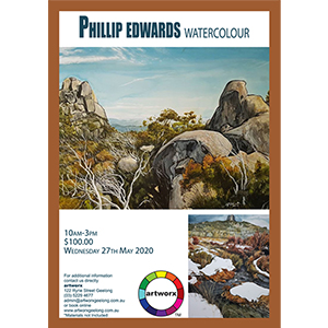 27th May 2020 Watercolour Landscapes with Phillip Edwards