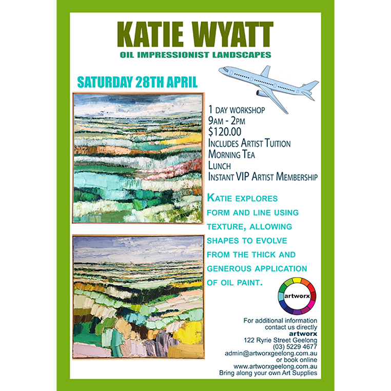 Impressionist Oil Landscapes with artist Katie Wyatt 28th April 2018