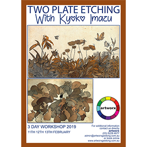 11th 12th 13th February 2 Plate Etching Workshop