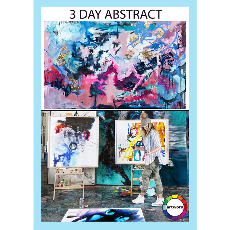 3 Day Abstract Workshop - All Artist Materials Included